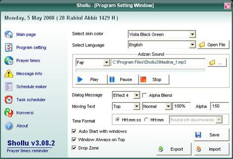 aplikasi pengingat jadwal shalat,aplikasi islam di pc,gratis, terbaru,www.whistle-dennis.blogspot.com.