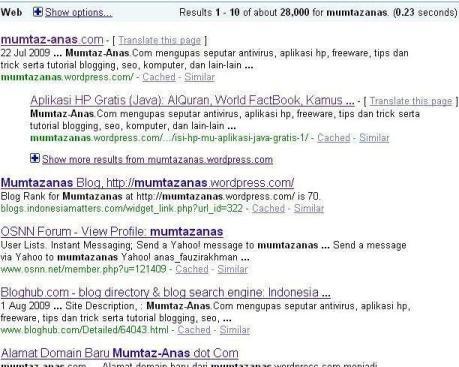 recent google.com for mumtazanas
