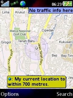 google maps dengan fungsi positioning