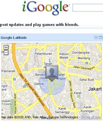 google latitude in igoogle