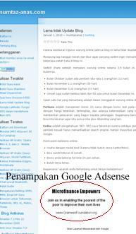adsense at wordpress.com blog